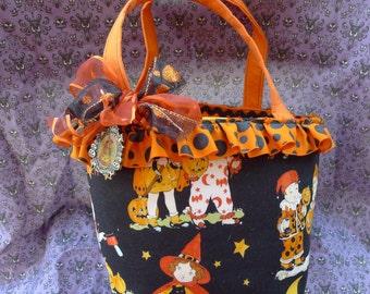 Retro Trick or Treat Bag