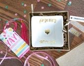 Engagement Ring Dish, Ring Dish, Ring Holder, Gift For Bride, Engagement Gift, Wedding Ring Dish, Custom Ring Dish, Bridal Shower Gift