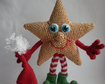 Stargirl – Crochet Pattern by ToyMagic [PDF Instant Download Amigurumi Toy]