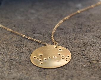 Scorpio Constellation Pendant Necklace