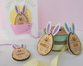 Personalised Baby's First Easter Card and Keepsake Ornament