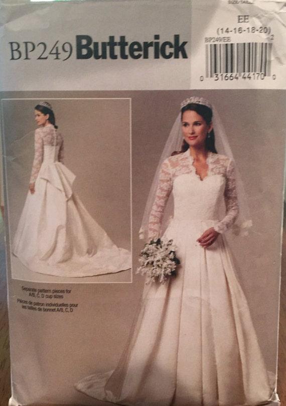 Butterick bridal recreation of kate middleton 39 s royal for Knock off kate middleton wedding dress