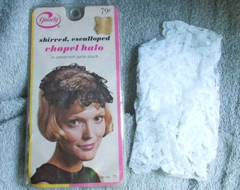 Vintage Goody Hair Products Chapel Halo New in Purse Pouch