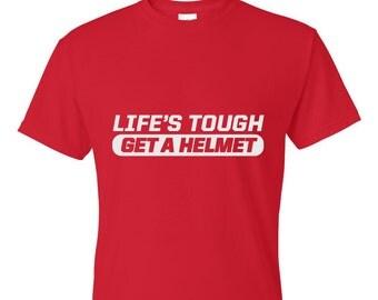 Boy Meets World Tshirt - Life's Tough. Get a Helmet.