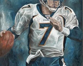 Denver Broncos John Elway Glicee Prints
