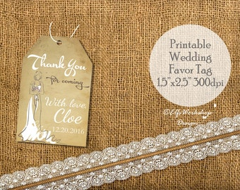 Thank you bridal shower tags, thank you bridal tags, wedding tags, thank you printable bridal shower tags,printable tags, tags bridal shower