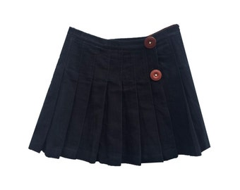 Dolce Gabbana pleated mini skirt