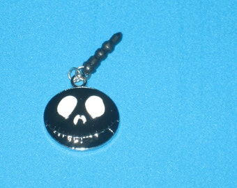 Jack Cell Phone Dust Plug Charm Attached