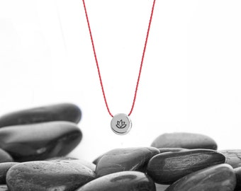 Lotus Flower, Lotus Necklace, Lotus, Dainty Necklace, Everyday Necklace, Minimalist Necklace, Simple Necklace, Layering Necklace, n245tA