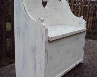 Chest Bank, kids Bank shabby 44 x 44 x 21