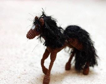 Amigurumi Crochet Horse