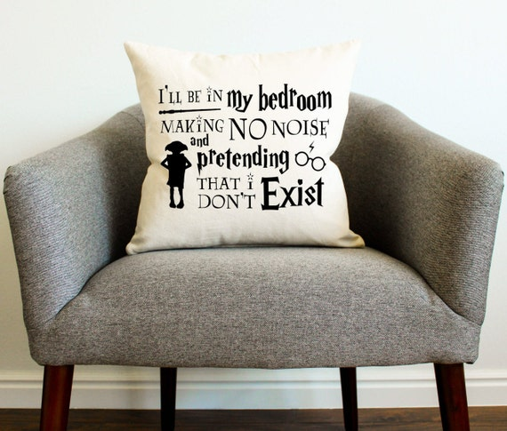 Chamber of Secrets Quote Pillow | Harry Potter Gift Guide