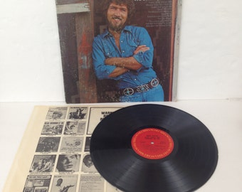 Mac Davis Baby Don't Get Hooked On Me Vintage Vinyl 33rpm Record Album LP 1972 Columbia Records PC31770