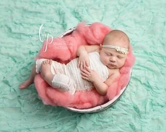 IVY, Newborn Romper, Newborn Romper Set, Newborn Headband, Headband, Flower Headband, Photography Props, Photo Props, Newborn Photo Props