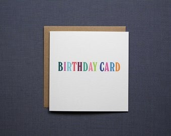 Birthday Card // Funny Card