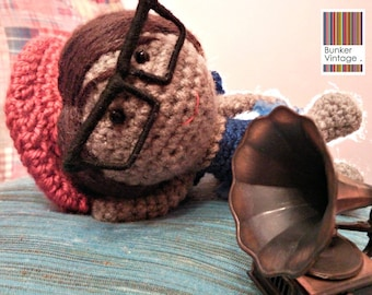 Paris Style Crochet Doll - Fairy Crochet Amigurumi doll - Crocheted amigurumi doll - Amigurumi Fairy doll
