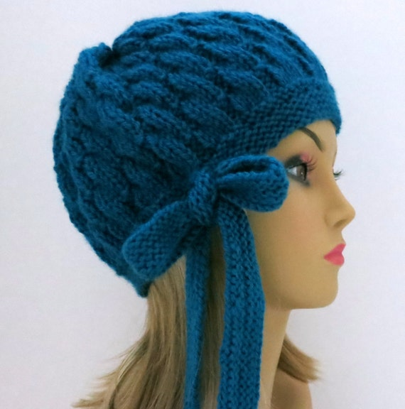 Hat Knitting Pattern Two Patterns in One Tam Beanie Beret