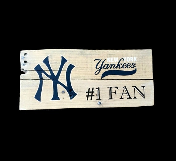 Man Cave Decor Etsy : Mancave pallet sign man cave decor new york yankees