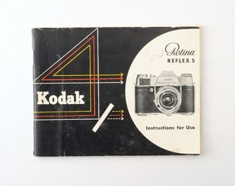 Kodak Retina Reflex S Instruction Manual