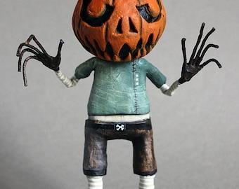 Freddy l ' scarecrow OOAK Doll KriSoft