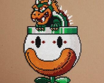 Bowser Super Mario Perler Hama Bead Sprites Beads