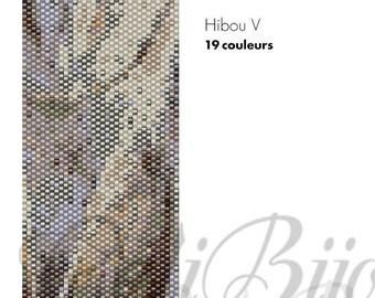 Hibou 5 - Pattern
