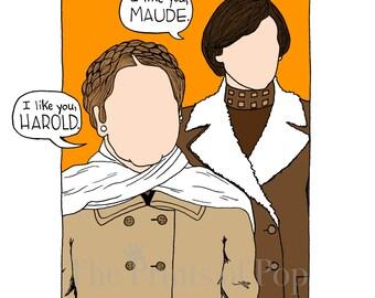 Harold & Maude Print (11x14) - FREE SHIPPING