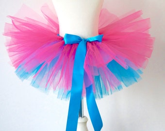 Girls Tutu - Pink and Blue Tutu - Kids Tutu - Birthday Tutu