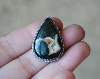 Ocean Jasper (available to be finished as a ring or necklace)