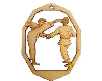 Karate Ornament - Tai Kwan Do Ornaments - Tai Kwan Do Gift - Tai Kwan Do Ornaments - Tai Kwan Do Gifts - Personalized Free