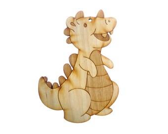 Dinosaur Ornament - Dinosaur Ornaments - Dinosaur Gift - Dinosaur Party - Dinosaur Decor - Dinosaur Art - Personalized Free