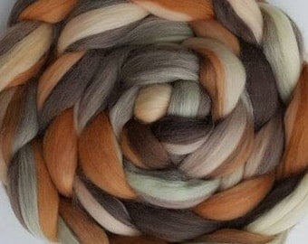 4 oz braid of Mona Lisa Merino Combed Top (roving).  Great for Spinning and Felting