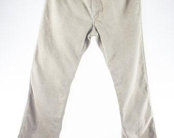 Vintage Levi's Denim | 70s Khaki Jeans | Action Pants