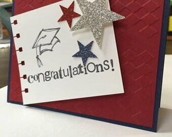 Congratulations Graduate Handmade Card