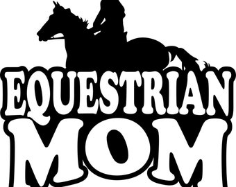Equestrian Mom T Shirt/ Equestrian Mom Shirt/ Equestrian Mom Clothing/ Equestrian Mom Gift/  Girl Rider Equestrian Mom Short Sleeve T Shirt