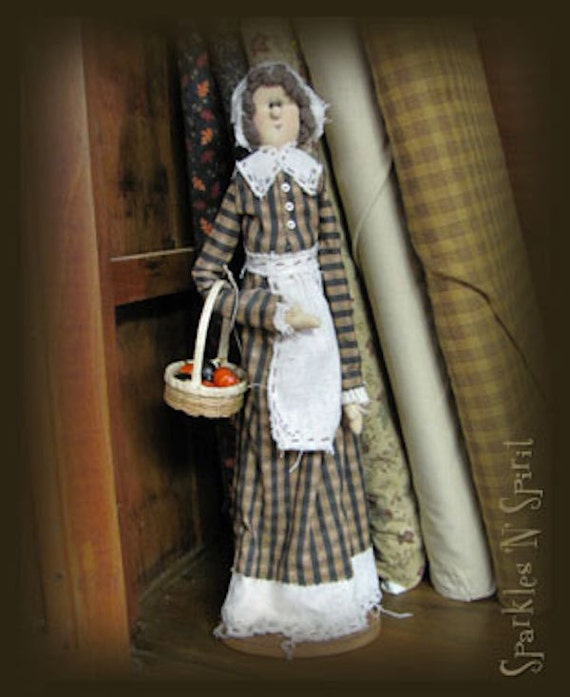 "Pattern: Purity - 17"" Pilgrim Lady"