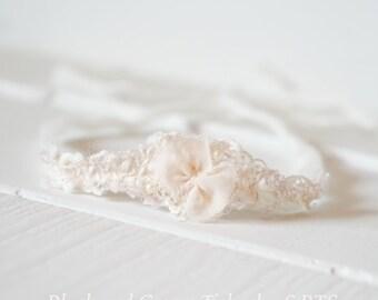 Blush/Cream Tieback; Photography Props