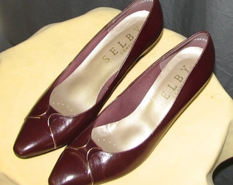 Classic Vintage Selby Leather Pump