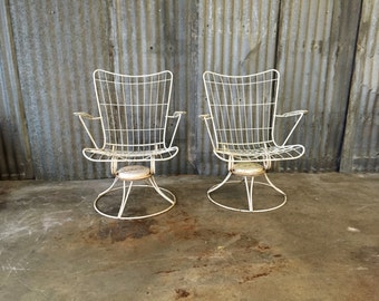 Vintage Metal Outdoor Furniture Etsy