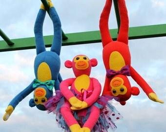 Cheeky Monkeys Softie PDF Pattern