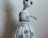 Paper Mache Doll ~ OOAK Art Doll ~ 'Addilyn'