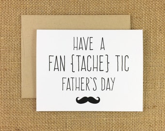 FanTACHEtic Father's Day Card
