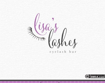 Premade Eyelashes Logo, Eyelash Bar Logo, Eyelash Logo, Makeup Artist Logo, Eyebrow Logo, Business Logo, Lashes Logo, Beauty Logo Design