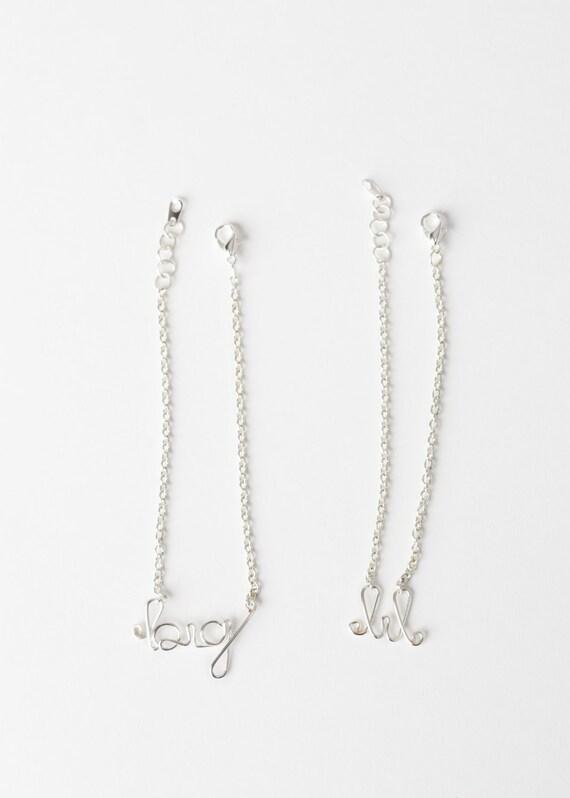 Big and Little Bracelet Set - Sorority Sisters Bracelet Set - Sorority Jewelry - Sorority Sisters - Bid Gift - Sorority Sisters Bracelet