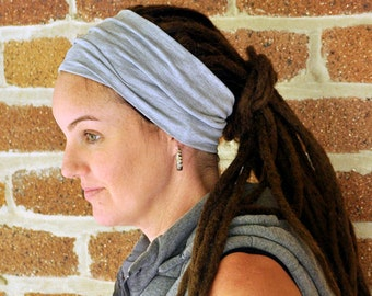Wide head band for dreadlocks / braids / yoga