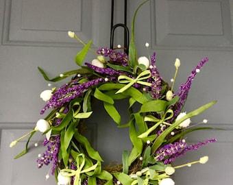 Lavender wreath #2