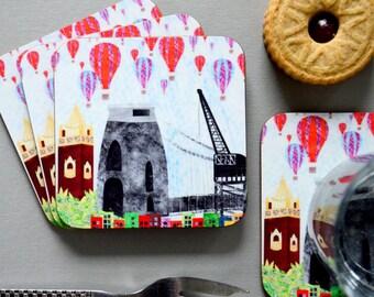 Bristol Collage Coaster