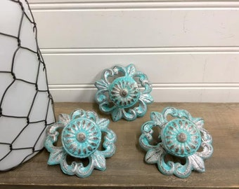 Cabinet Knobs-24 Colors/Dresser Knobs/Drawer Pulls/Knobs/Shabby Chic/Knob/Shabby Chic Knobs/The Shabby Store/Drawer Knobs/Nursery/Pulls