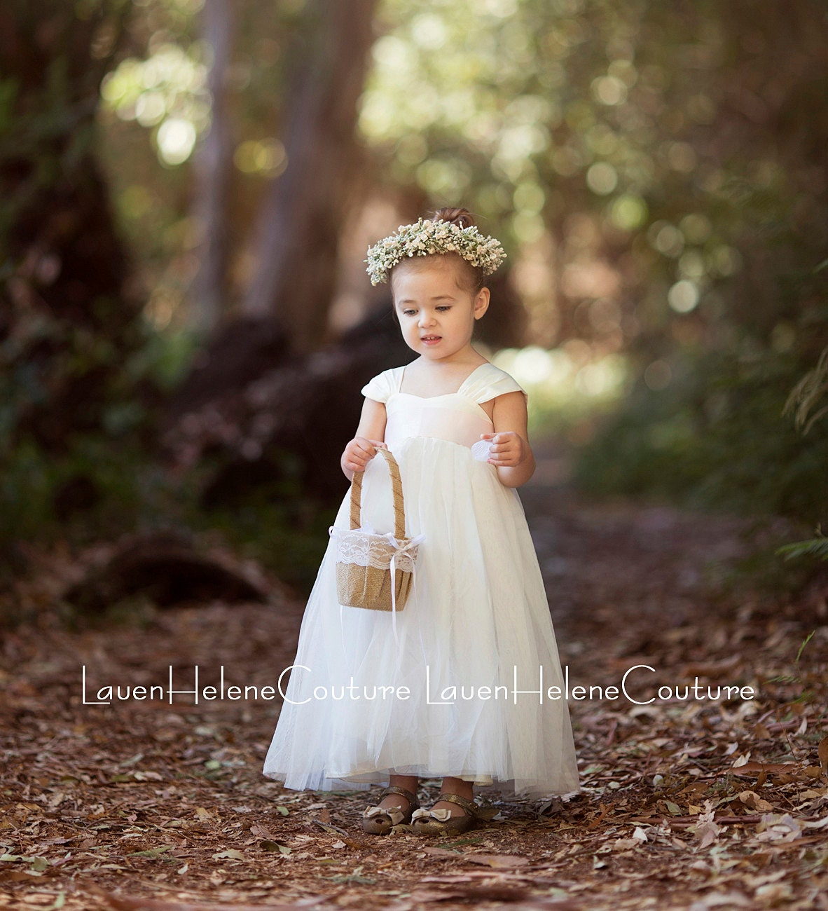 Ivory Flower Girl Dress White or Ivory Flower Girl Dresses