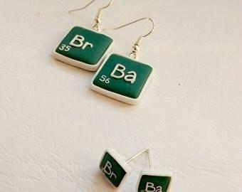 Breaking Bad FAN ART br ba- Reazioni collaterali - periodic table of elements - Chemistry - Blue Meth Walter Pinkman methamphetamine